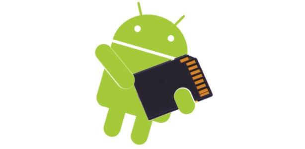 android sd kaart 2